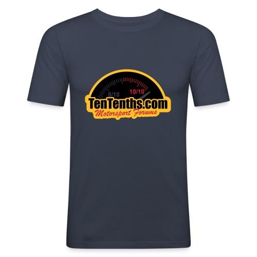 3Colour_Logo - Men's Slim Fit T-Shirt