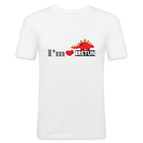 bretun negro - Camiseta ajustada hombre