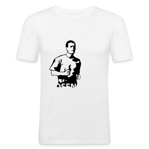 rosenc - Slim Fit T-shirt herr