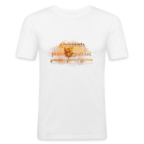 Accademia_Fabio_Scolari_trasprido-png - Maglietta aderente da uomo
