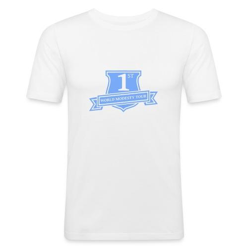 World Modesty Tour - Men's Slim Fit T-Shirt