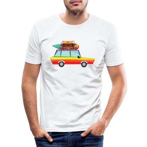 Gay Van | LGBT | Pride - Männer Slim Fit T-Shirt
