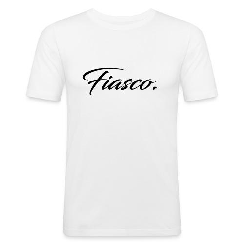 Fiasco. - Mannen slim fit T-shirt