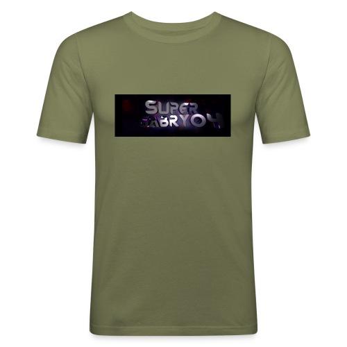 SUPERGABRY04 - Maglietta aderente da uomo