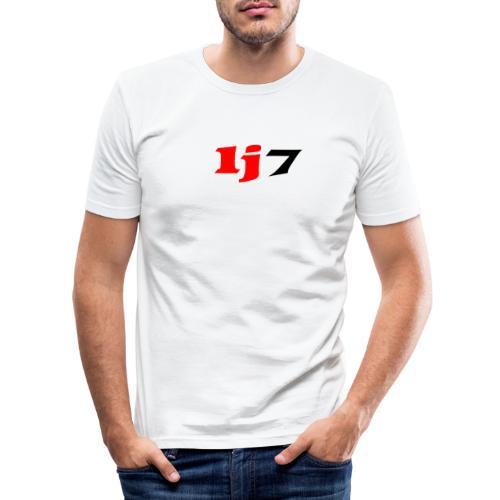 lj7 - Slim Fit T-shirt herr