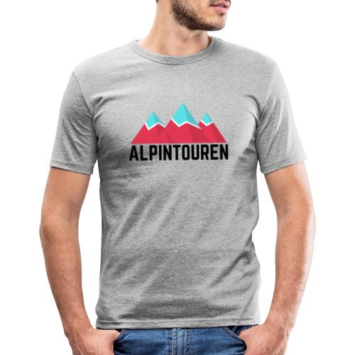 Alpintouren - Männer Slim Fit T-Shirt