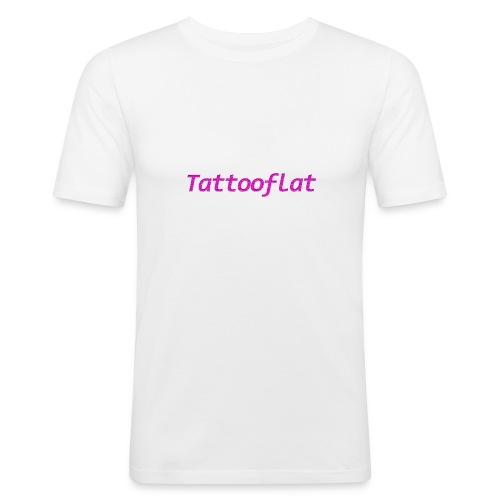 Tattooflat T-shirt - Men's Slim Fit T-Shirt
