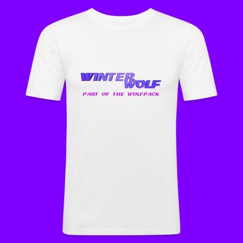 WINTERWOLF LOGO Part of The Wolfpack T-shirt - Mannen slim fit T-shirt