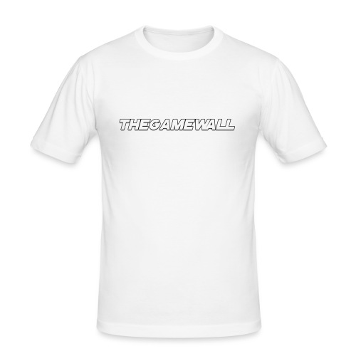 TheGameWall T-shirt 2 [BETA] - Mannen slim fit T-shirt