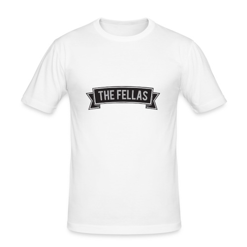 The Fellas T-Shirt - Mannen slim fit T-shirt