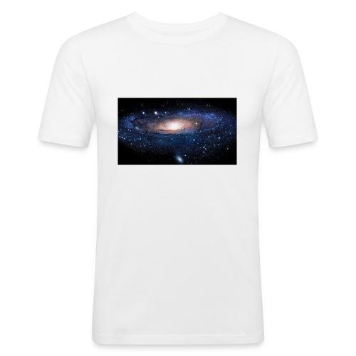 Galaxy - T-shirt près du corps Homme