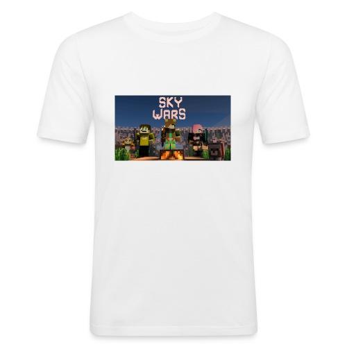 rebbeozelot19 SkyWars T-Shirt - Men's Slim Fit T-Shirt