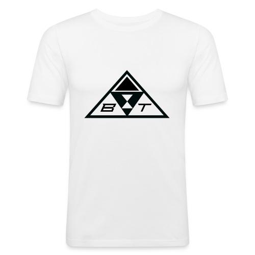 logo beatsux - Maglietta aderente da uomo