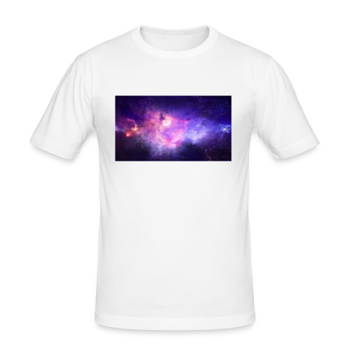 galaxy - Slim Fit T-skjorte for menn