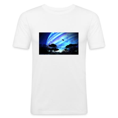 tropical night - Camiseta ajustada hombre