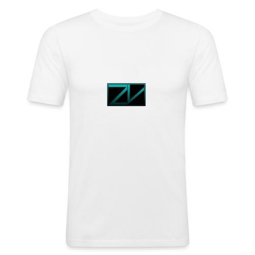 ZiVoid Basic - Mannen slim fit T-shirt