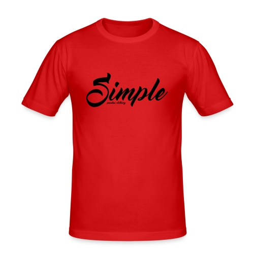 Simple: Clothing Design - Men's Slim Fit T-Shirt