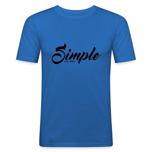 Simple: Clothing Design - Men's Slim Fit T-Shirt