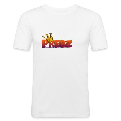 logog_preben - Slim Fit T-skjorte for menn