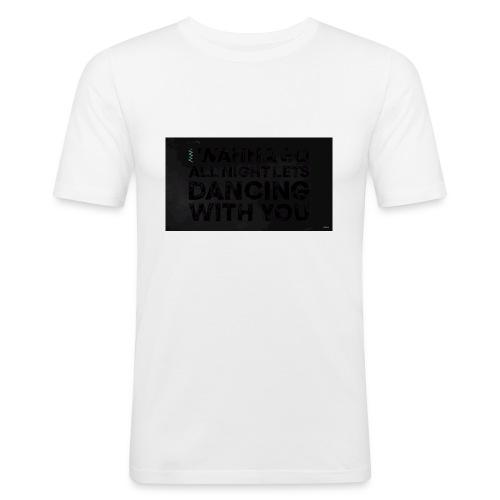 test dancing - Obcisła koszulka męska
