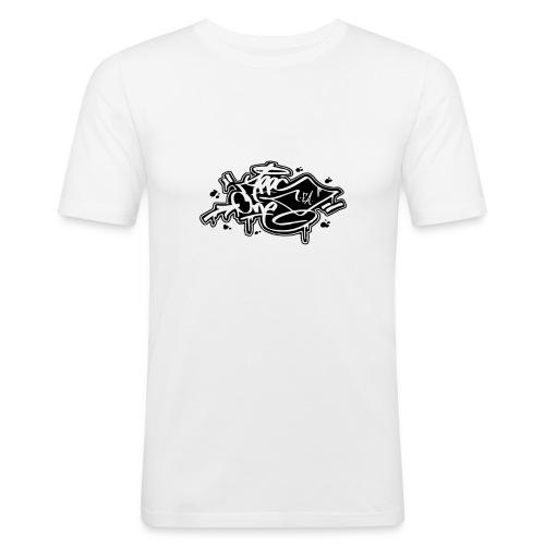 APPSONEEA - Maglietta aderente da uomo