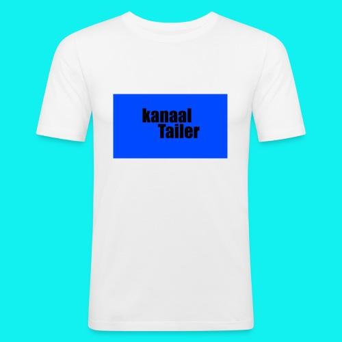 5s hoesje - Mannen slim fit T-shirt