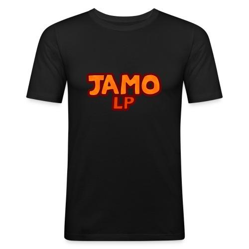JAMOLP Logo Mug - Herre Slim Fit T-Shirt