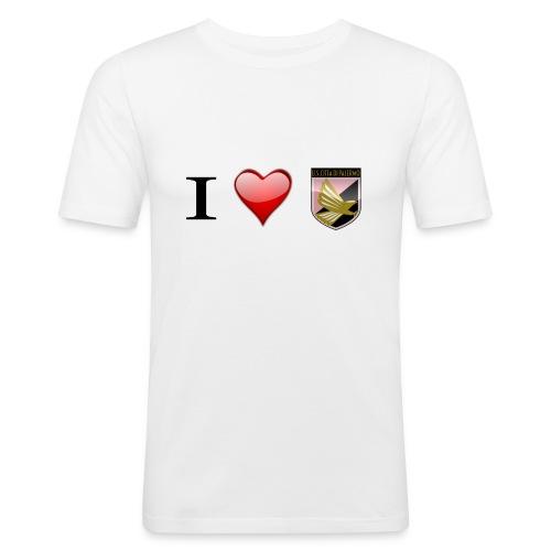 I Love Palermo - Maglietta aderente da uomo