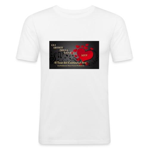 Gli_Artisti_della_Musica-iloveimg-resized - Maglietta aderente da uomo