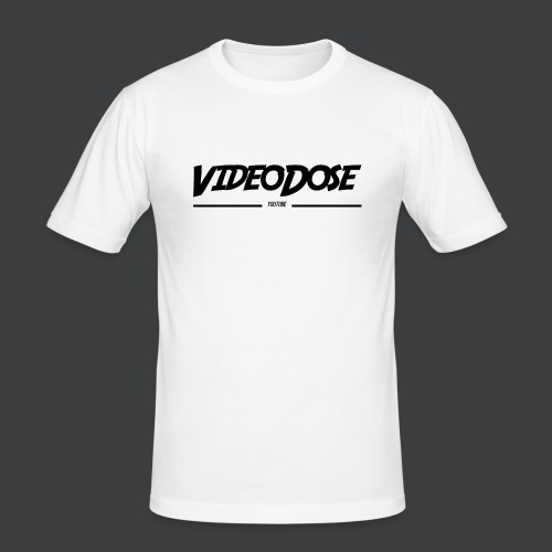 t-shirt_design_VideoDose - Mannen slim fit T-shirt