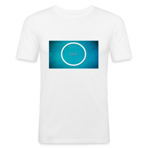 CaptainLuc1 - Slim Fit T-skjorte for menn