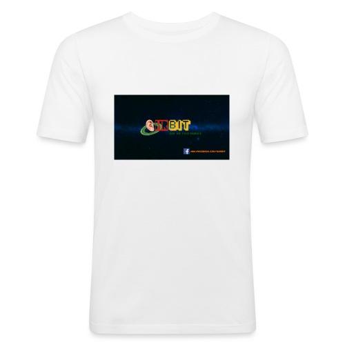 OhrBit Logo - Männer Slim Fit T-Shirt