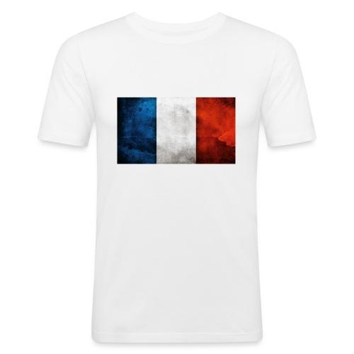 France Flag - Men's Slim Fit T-Shirt