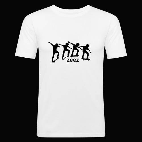 zeez skate - T-shirt près du corps Homme