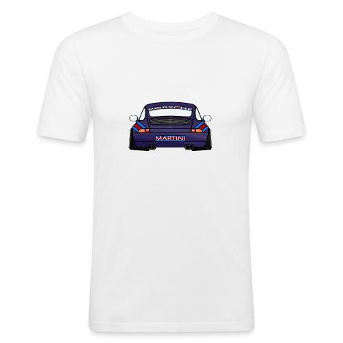 Magenta maritini Sports Car - Men's Slim Fit T-Shirt