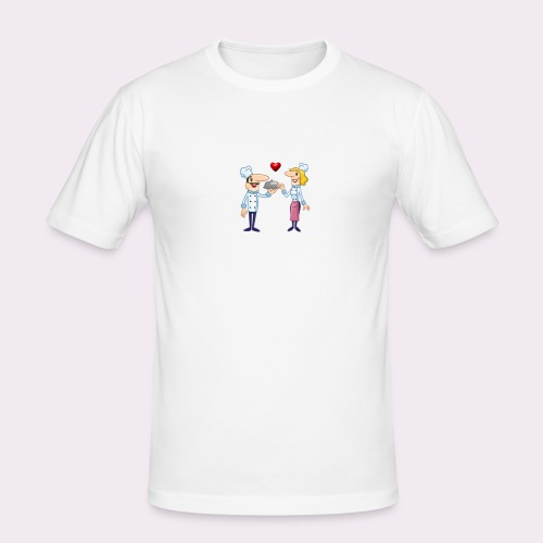 cheffs - Camiseta ajustada hombre