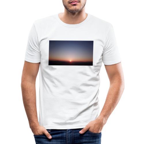 SONNENAUFGANG - Männer Slim Fit T-Shirt
