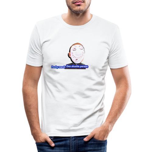 Det skumle merch - Herre Slim Fit T-Shirt