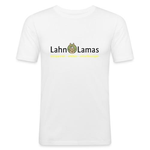 Lahn Lamas - Männer Slim Fit T-Shirt