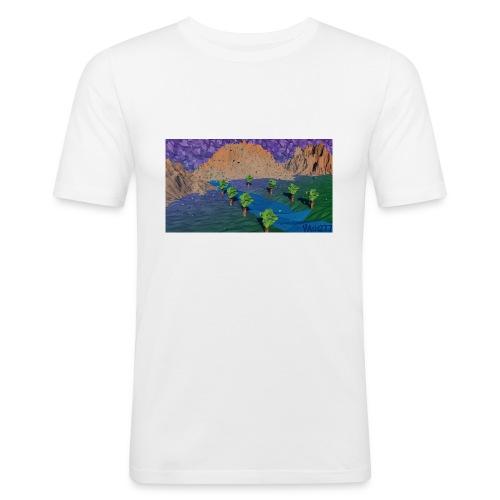 Silent river - Men's Slim Fit T-Shirt