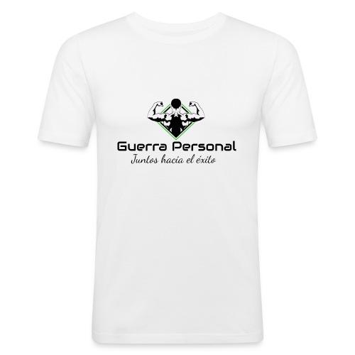Guerra Personal - Camiseta ajustada hombre