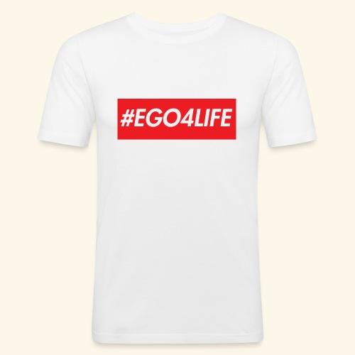 EGO4LIFE - Slim Fit T-skjorte for menn