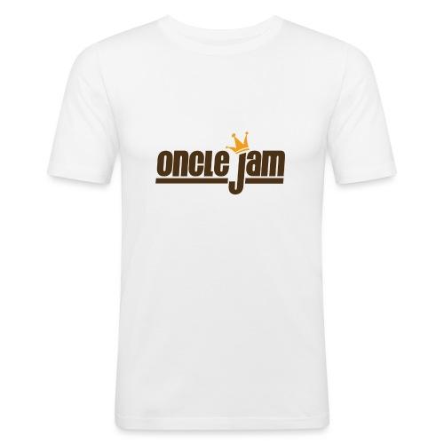 Oncle Jam horizontal brun - T-shirt près du corps Homme