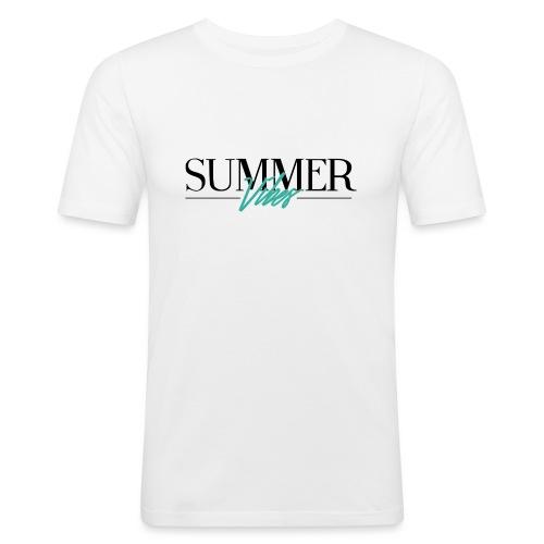 Summer Vibes - Mannen slim fit T-shirt