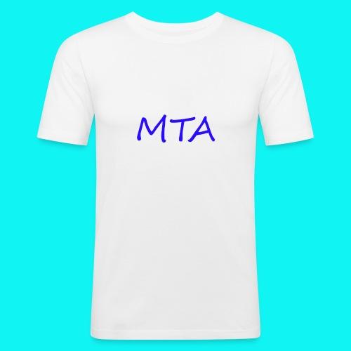 #MTA t-shirts - Herre Slim Fit T-Shirt