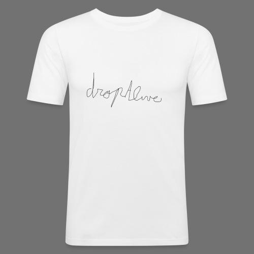 DropAlive - Mannen slim fit T-shirt