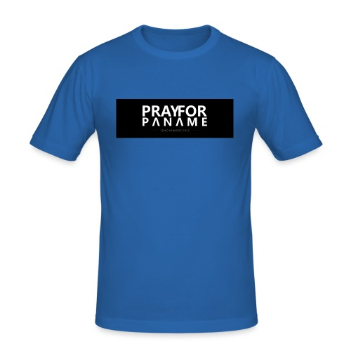 TEE-SHIRT HOMME - PRAY FOR PANAME - T-shirt près du corps Homme