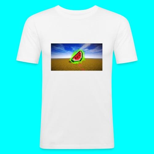 Meloen Heilig - Mannen slim fit T-shirt