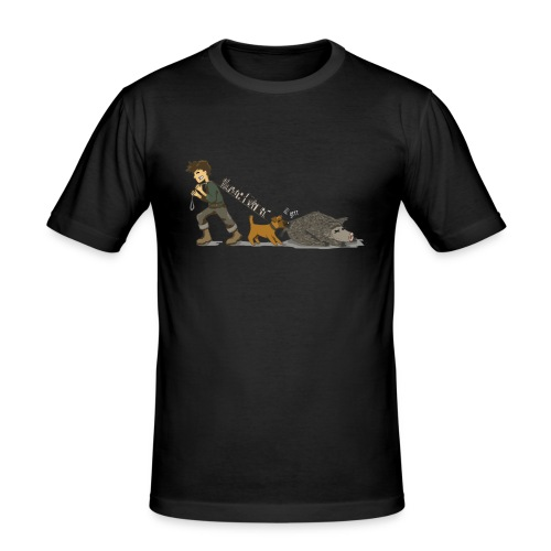 Hundeführer - Männer Slim Fit T-Shirt