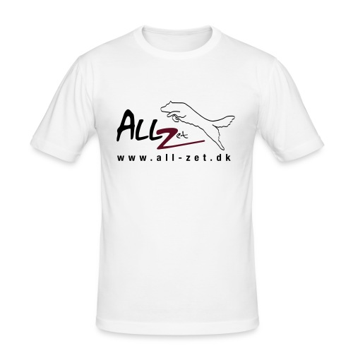 All Zet Logo - Herre Slim Fit T-Shirt